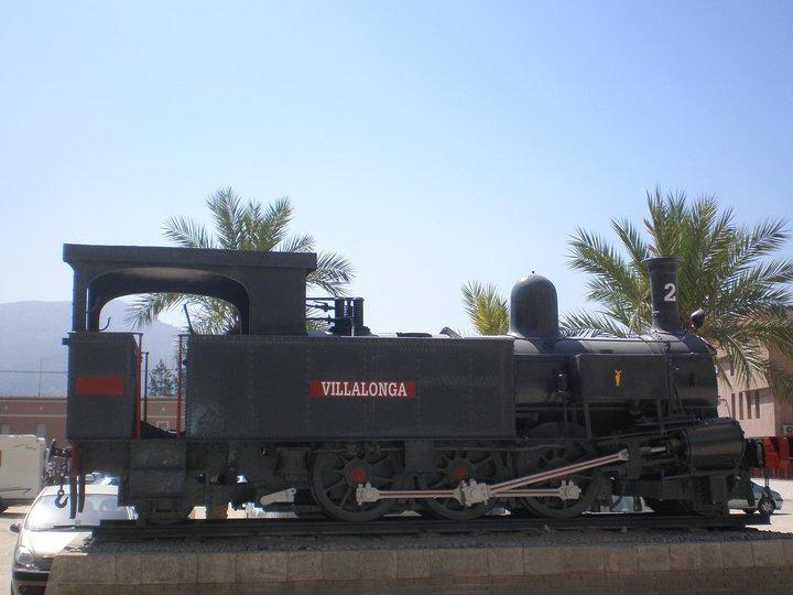 Locomotora número 2 Villalonga