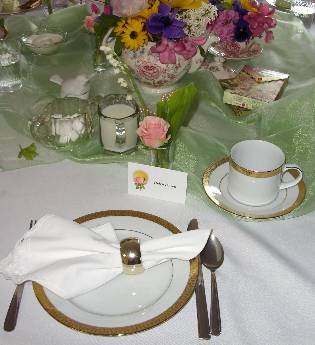 English Tea Party Decorations: ShabbyNChic: An Afternoon Tea Party