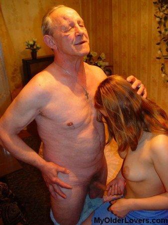 фото порнуха дед и внучка