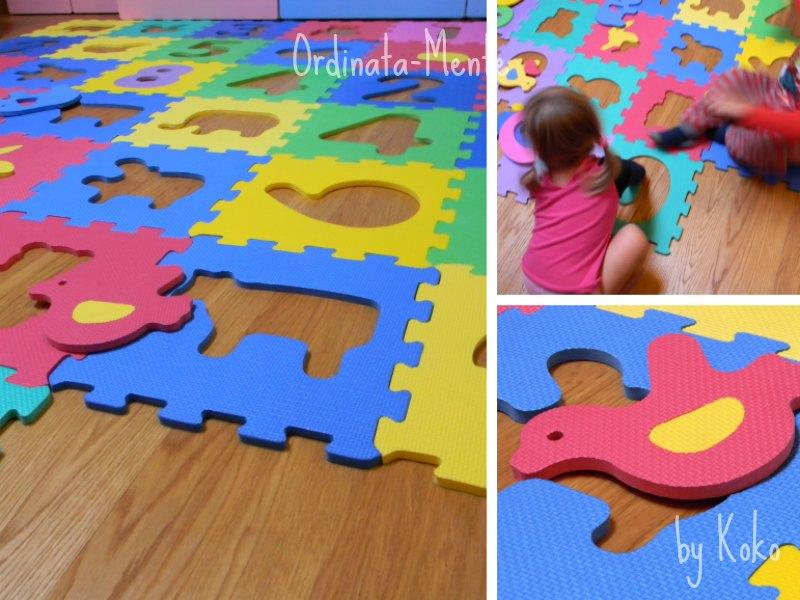 Ikea tappeto puzzle modificare una pelliccia - Tappeto puzzle ikea ...