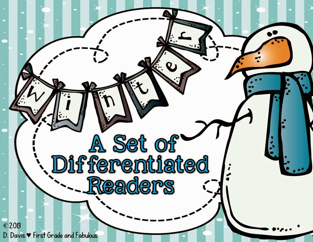 http://www.teacherspayteachers.com/Product/Winter-Readers-for-Differentation-1049820