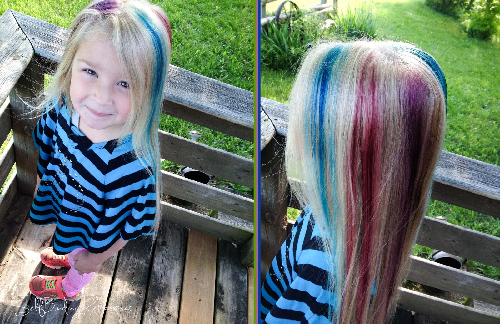 How to Temporarily Dye Hair With Food Dye foto
