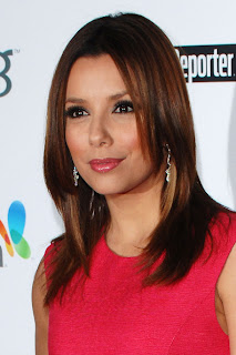 Eva Longoria Medium Layered Hairstyle