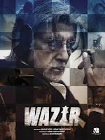 Wazir 2016 480p Hindi DVDScr 1CDRip Full Movie
