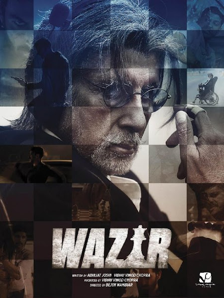 Poster Of Wazir 2016 480p Hindi DVDScr 1CDRip Full Movie