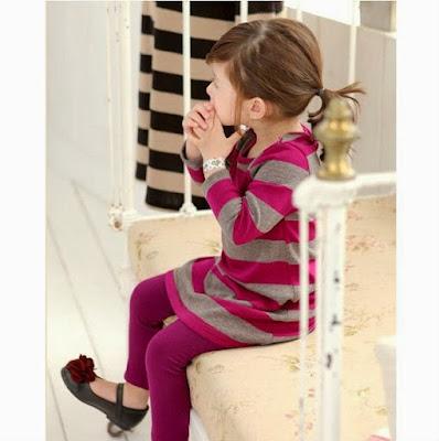 Menentukan model baju anak gaya masa kini