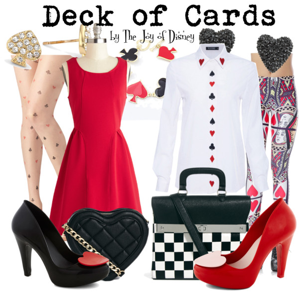 alice in wonderland, deck of cards, disney fashion, alice in wonderland cards, alice in wonderland party, alice in wonderland cosplay