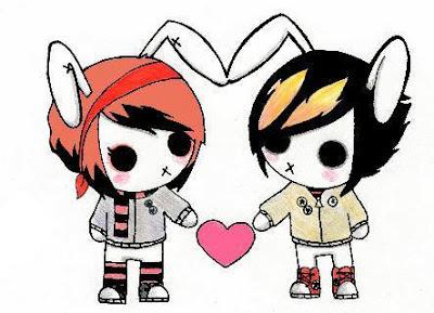 Gambar Emo Romantis