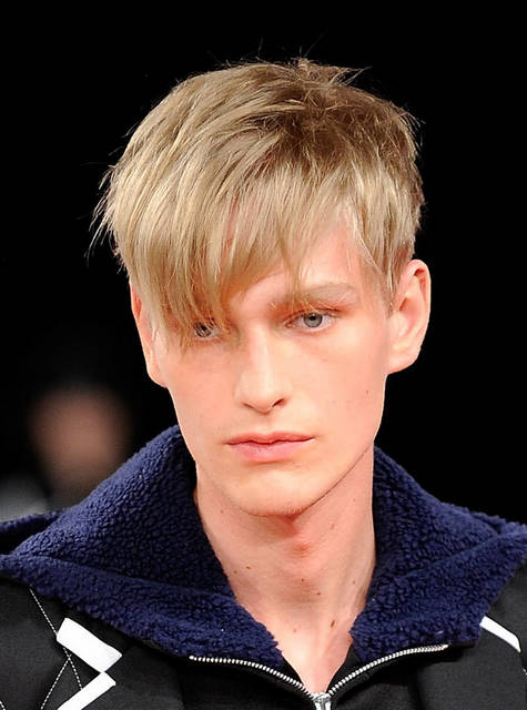 2011 Side Swept Hairstyle For Men