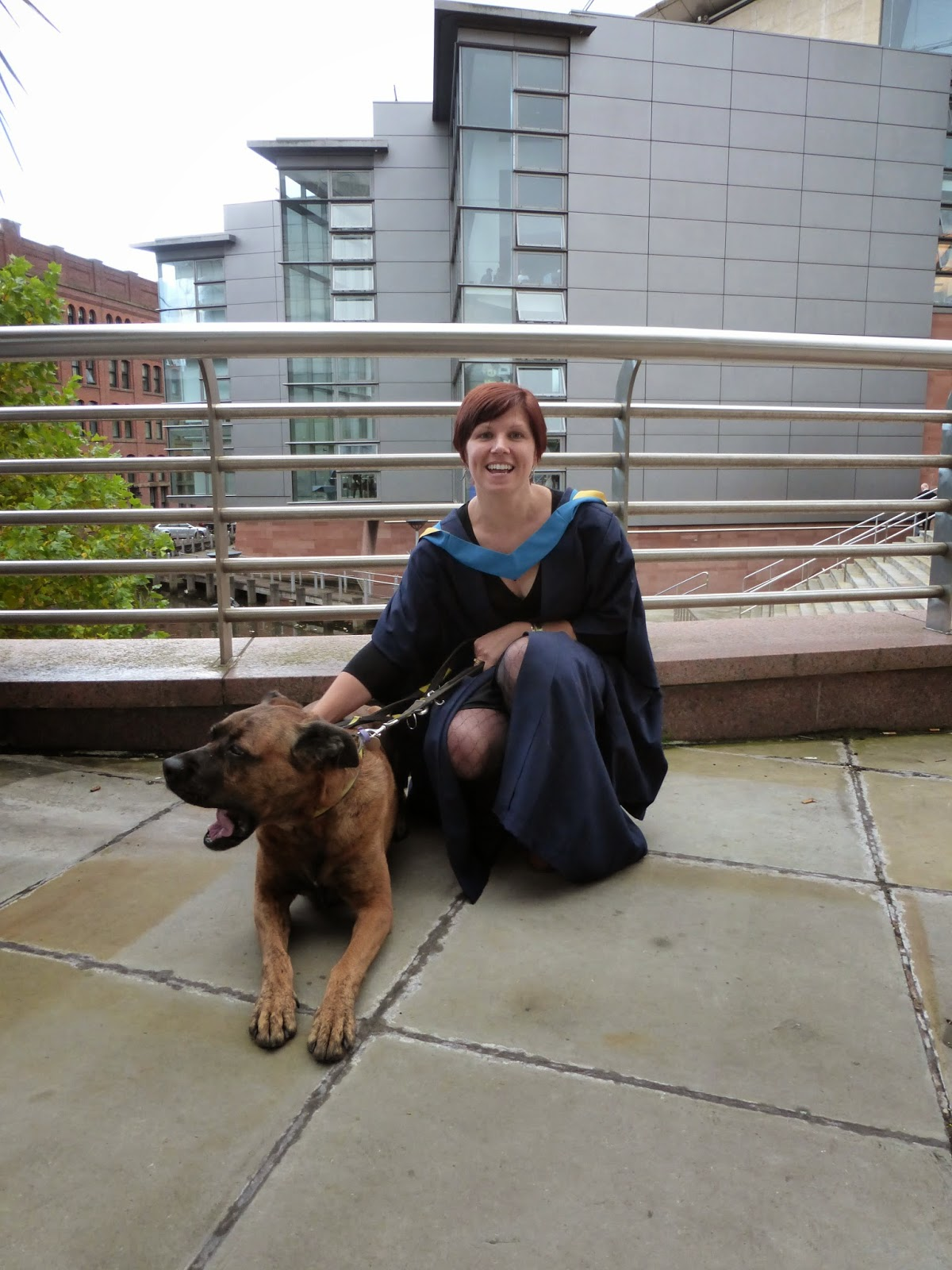 Open university graduation 2014 manchester me and Fizz
