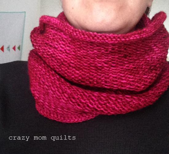 Crazy Mom Quilts Honey Cowl
