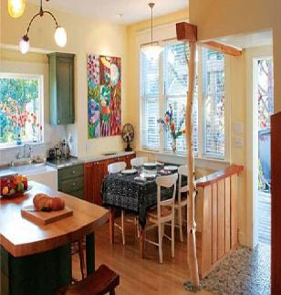 Small Kitchen Makeoversbudget on With These Small Kitchen Remodelling Thoughts Your Small House Kitchen