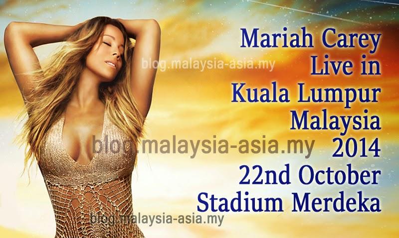 Mariah Carey Live Concert in Kuala Lumpur, Malaysia 2014