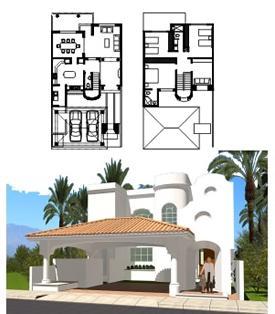 Planos de casas modelos y dise os de casas planos de for Planos y disenos de casas pequenas