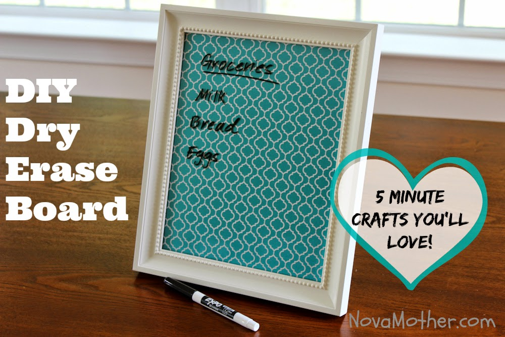 Easy DIY Dry Erase Board Tutorial