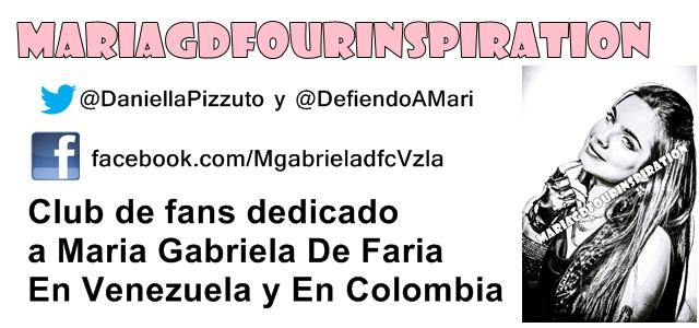 Maria Gabriela De Faria Our Inspiration