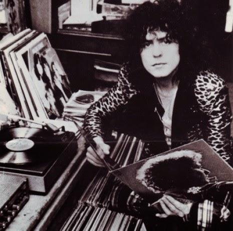 Marc Bolan likes vinyl