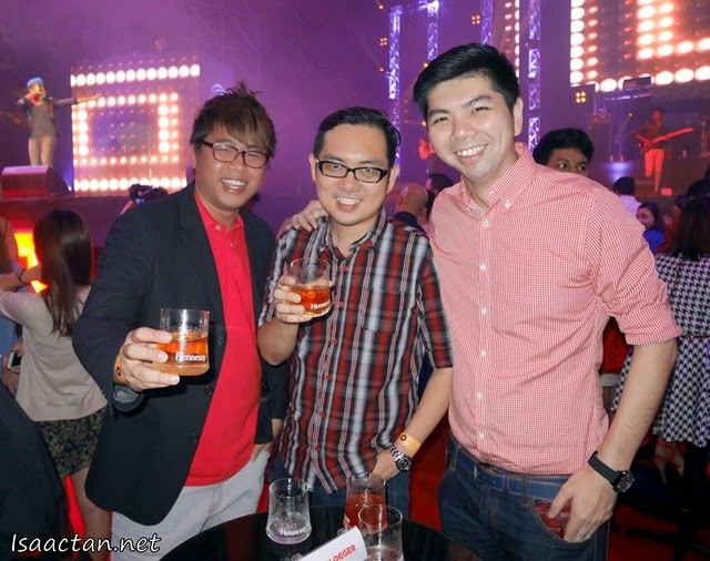 With old time buddies and bloggers Benjamin and Bok
