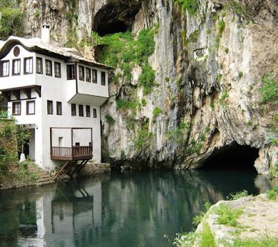 Blagaj Tekke Monastery, Bosnia Herzegovina