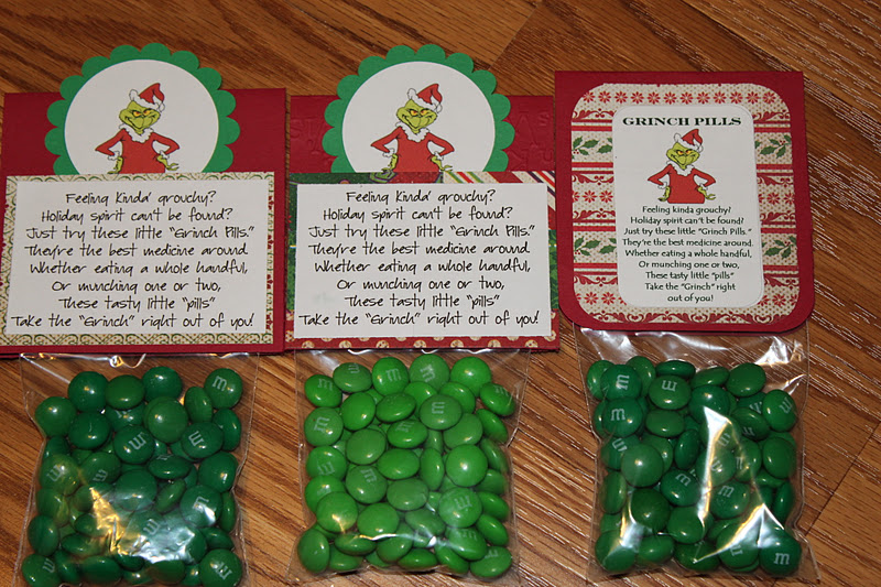 Crafty Girl 21!: Grinch Pills revisted