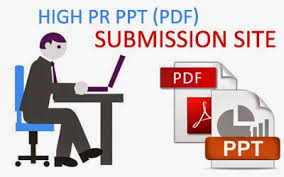 High PR PDF submission List for seo