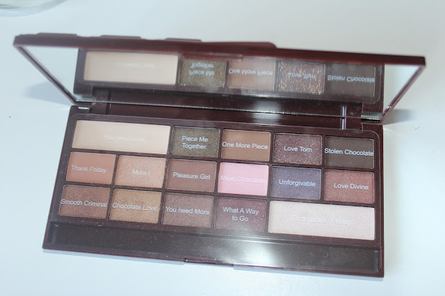 Make Up Revolution I Heart Chocolate Palette