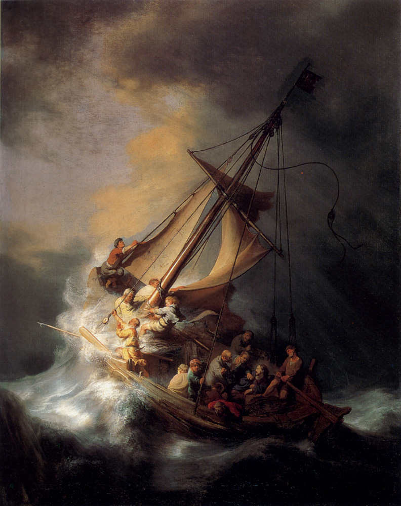 The quiet place trusting god in the midst of the storm