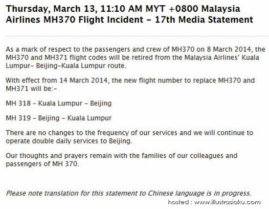 kod baru mh370, kod baru penerbangan kl beijing, mh318, mh319, kod baru penerbangan malaysia airlines, mh370