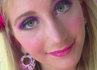 barbie Halloween makeup style for girls