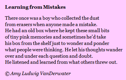 Learning from one's mistakes essay