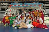 8 naveros brillan en los campeonatos de España de...balonmano