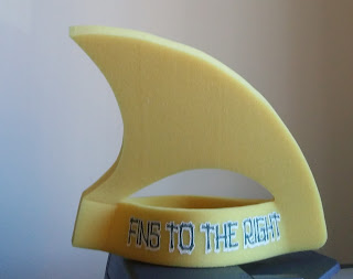Shark fin hat from Margaritaville