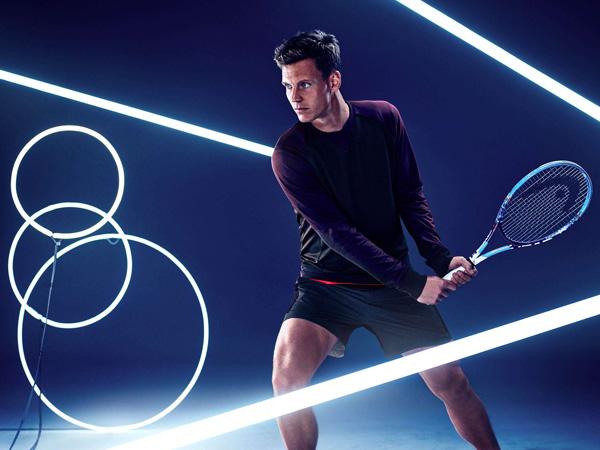 Tomas Berdych HM colección ropa deporte tenis