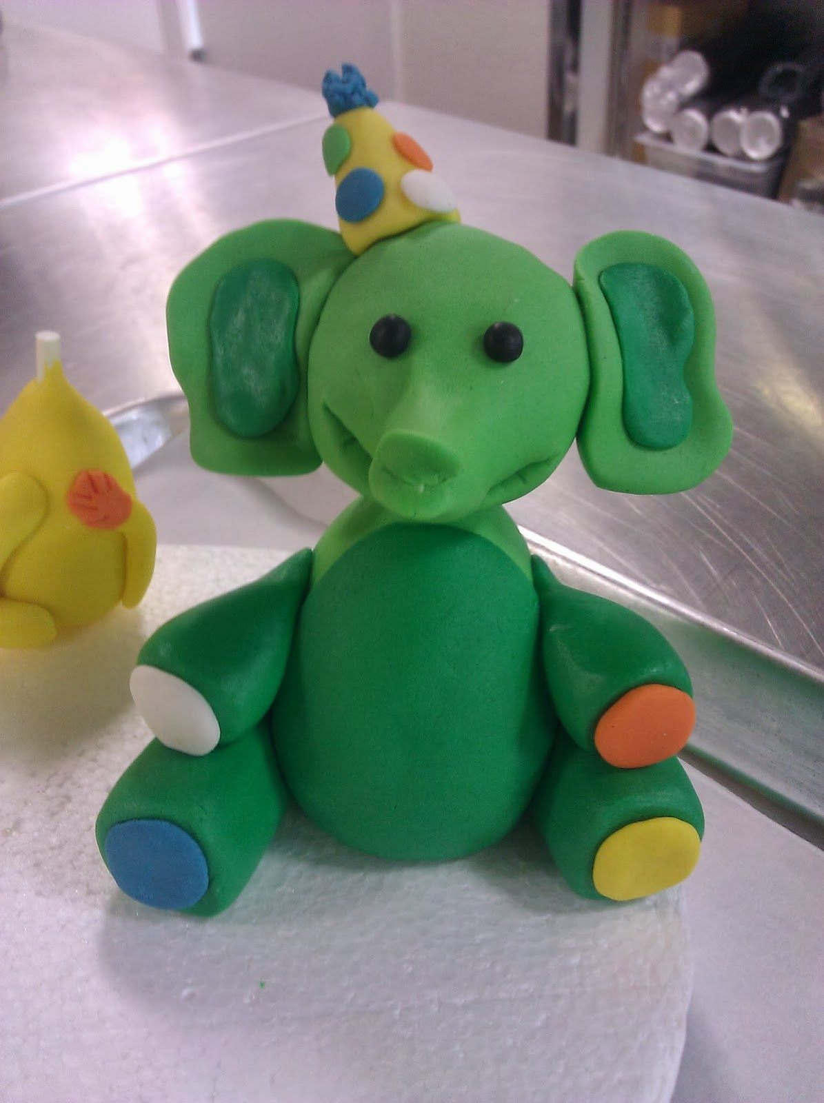 Tickled Pink Cakes Jungle Animal Cake Toppers