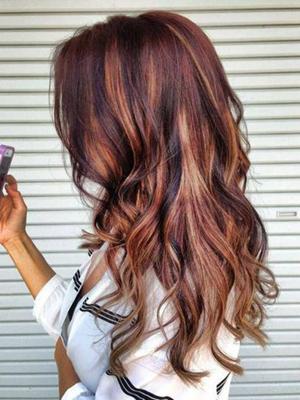 peinados mechas localizadas ondas