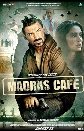 Watch Madras Cafe (2013) HD DTHRip Hindi Full Movie Watch Online For Free Download