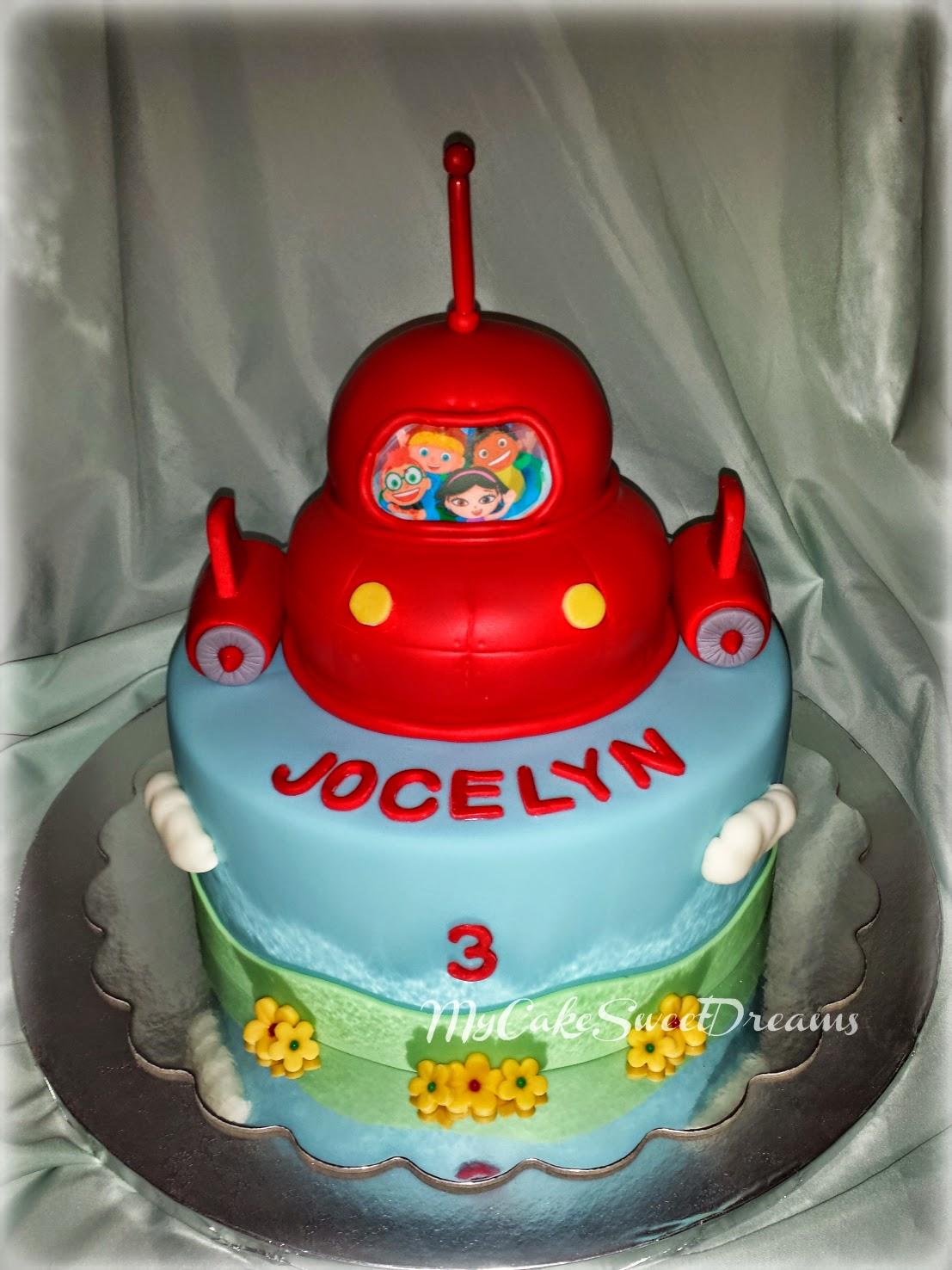 My Cake Sweet Dreams Little Einsteins Birthday Cake