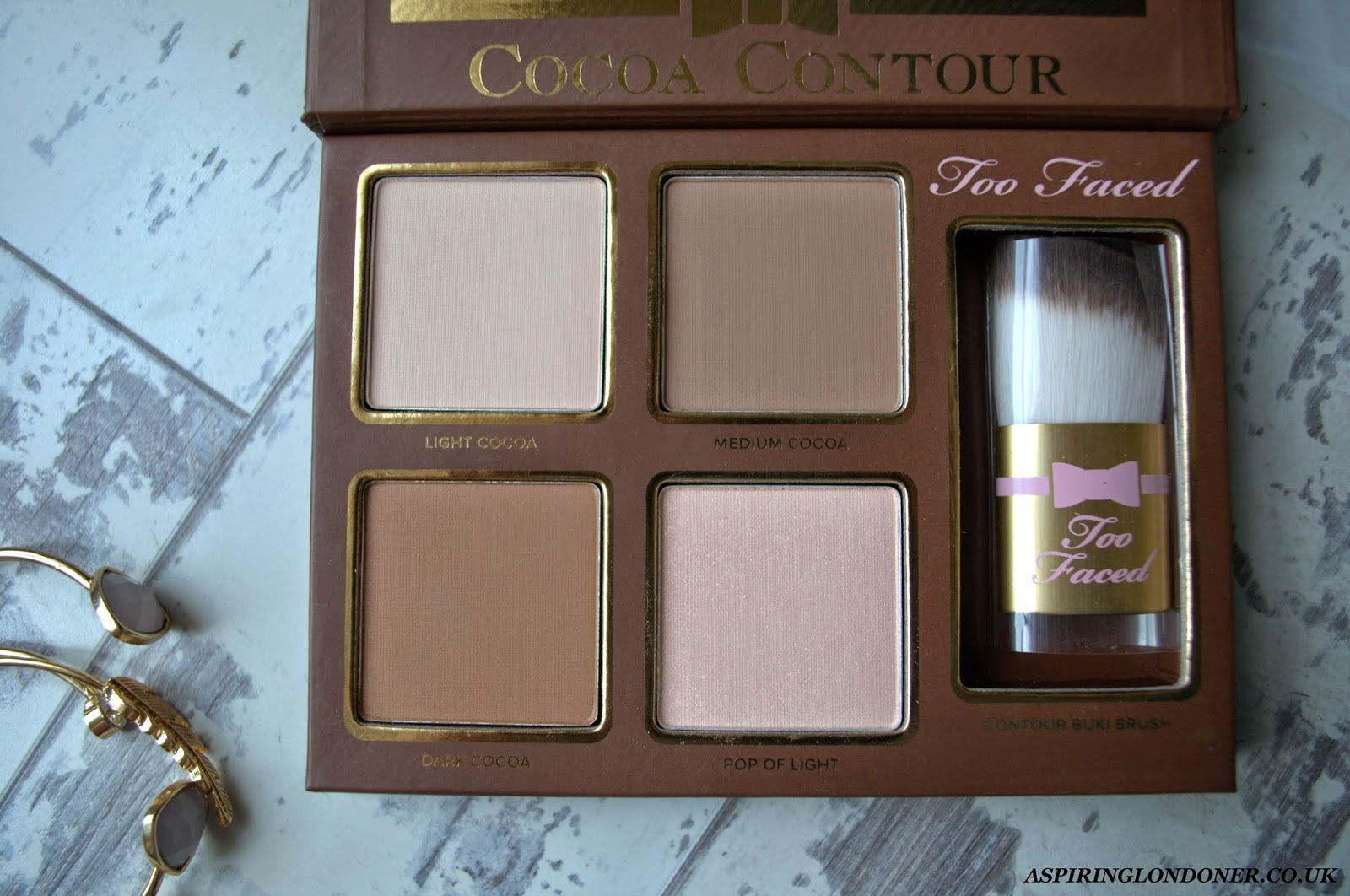 Too Faced Cocoa Contour Palette Review - Aspiring Londoner
