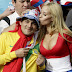 Hot and Crazy Football Fans at Copa America |
