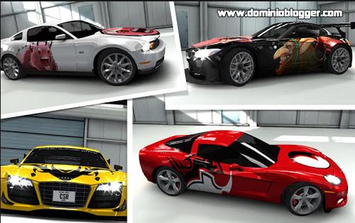 Juega CSR Racing gratis desde tu Smartphone con Android - www.dominioblogger.com