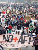 Los chilenos se rebelan contra el sistema de pensiones de Pinochet
