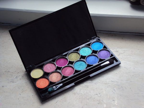 Technic Electric eyeshadow palette.