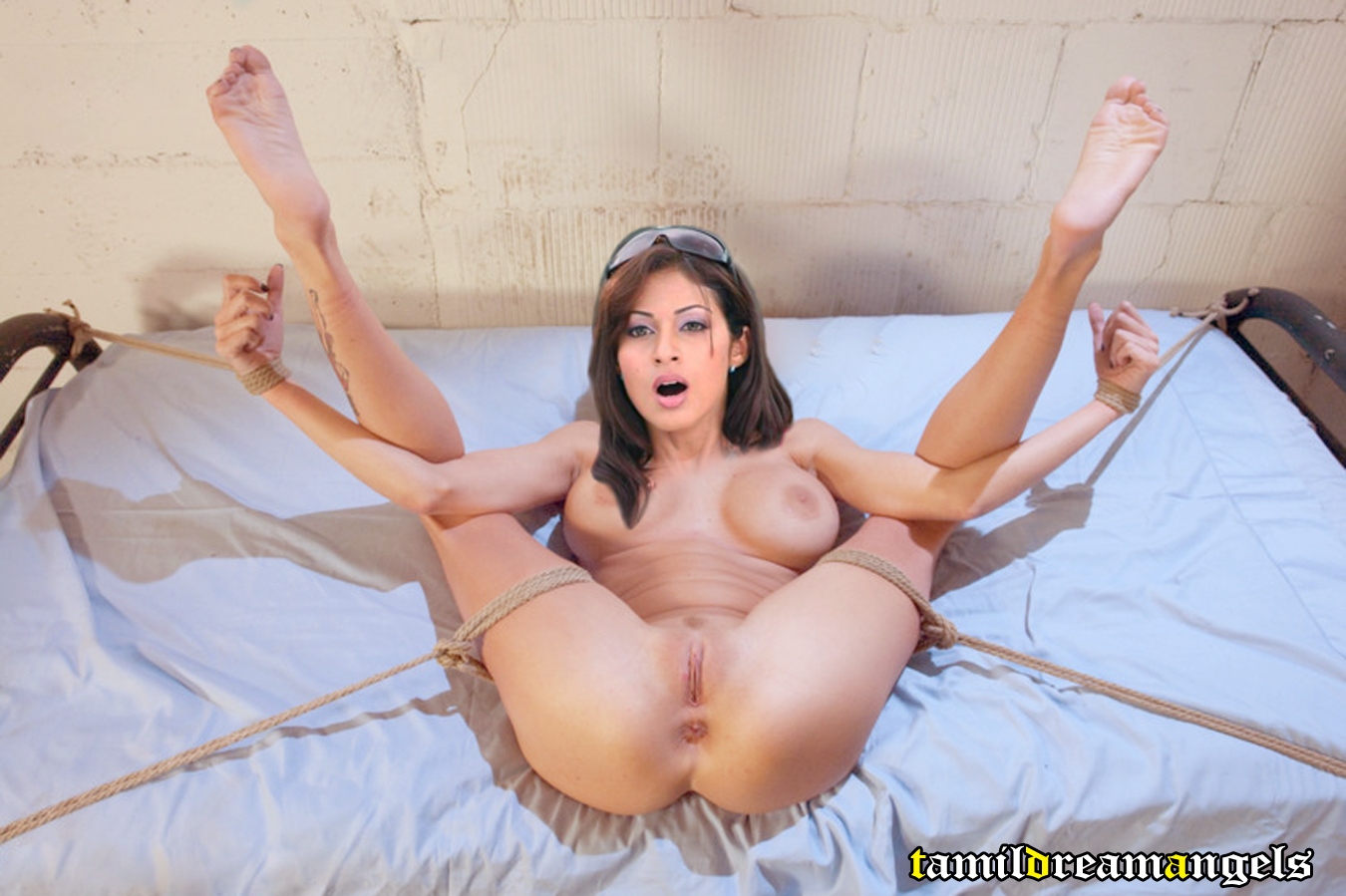 Nude girl bondage fantasy fucking video