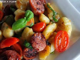 Gnocchi Sausage Skillet w/Tomatoes