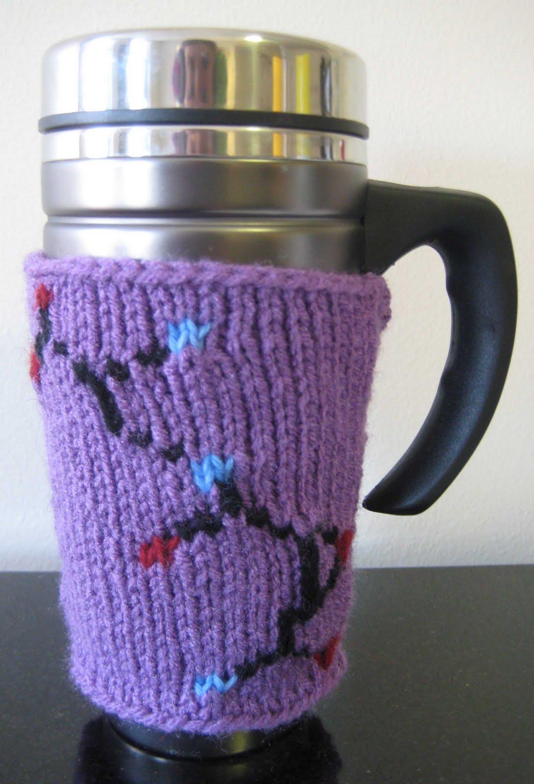 ChemKnits: Antibacterial Travel Mug Cozy