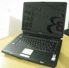 jual laptop bekas toshiba a135