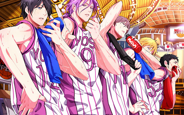 Yosen Basketball Team 2y