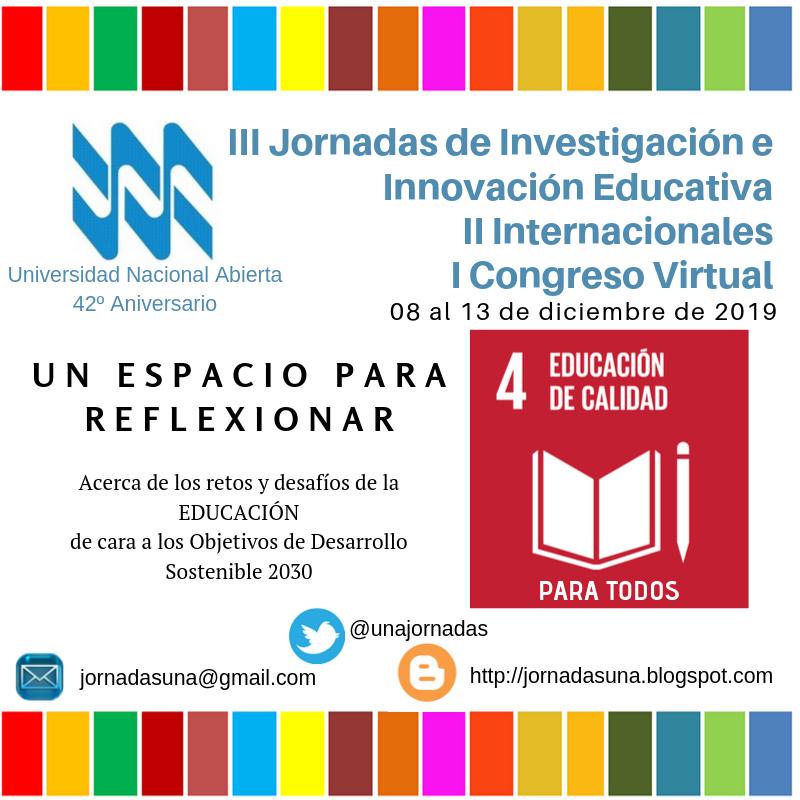 III Jornadas de Investigación  e Innovación Educativa