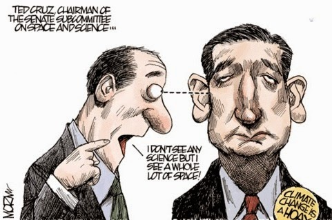 Jim Morin: Ted Cruz.